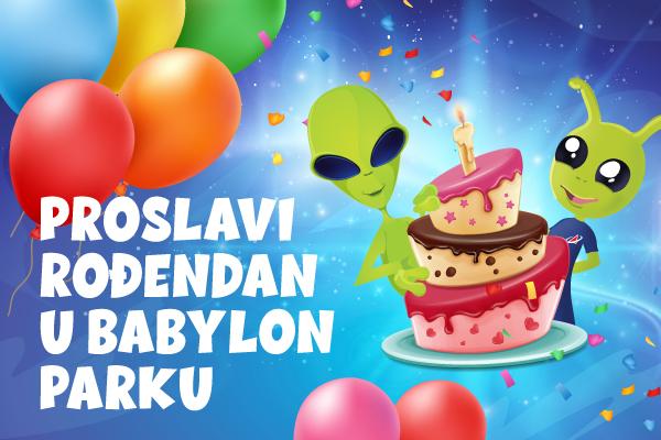 Proslavi rođendan u Babylon Parku